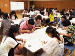 パワーストーン 編みブレスレット 教室 講座