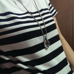 包み編み ネックレス ペンダントトップ
