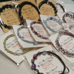 【美意識UPロードナイト】ラバール田和山店さんに編みブレスレットを納品します~