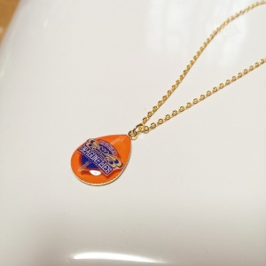 広島ドラゴンフライズ バスケット ロゴ ネックレス