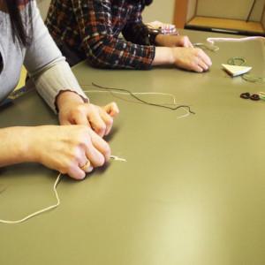 編み リング ロウビキ紐