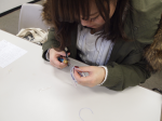 【松江市】パワーストーン編みブレスレット出張教室でしたっ!
