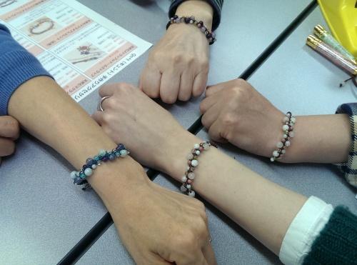 松江 パワーストーン ブレスレット 手作り