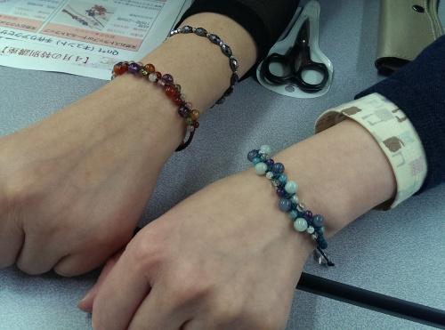 山陰 編みブレス 教室 手作り