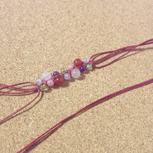 編みブレス 作り方