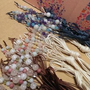 手作り パワーストーン 編み 教室 松江