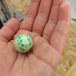 玉造でトンボ玉作ってきました^^ & ブレスレットのオーダーいただきました!