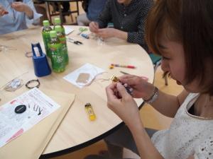 手作り パワーストーン ブレスレット 教室