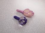 山陰中央新報文化センター(松江)にて包み編みペンダントの手作り講座でした