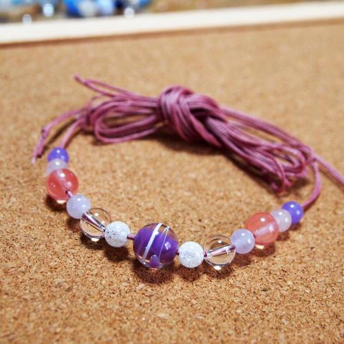 とんぼ玉水風船紫01