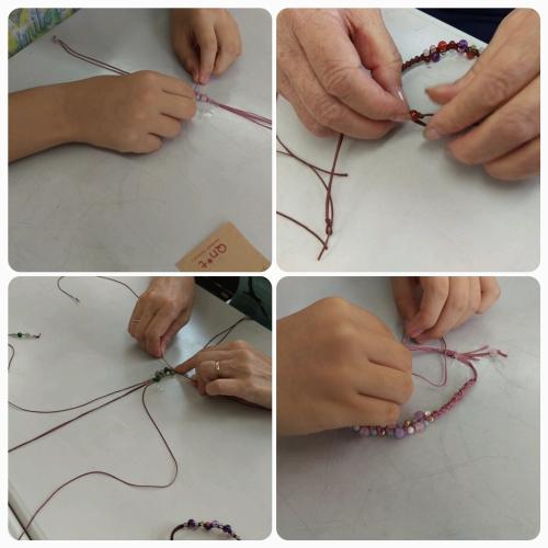 パワーストーン 編み ブレスレット 教室