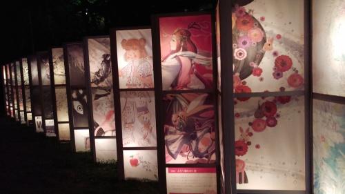松江 水燈路