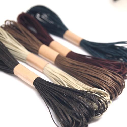 ロウビキ紐 ろうびき紐 お得 安い パワーストーン 天然石ブレスレット 作り方 編み方